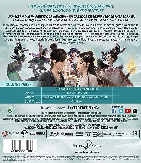 Amazon Com White Snake La Serpiente Blanca Non Usa Format Movies Tv