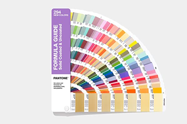 Pantone GP1601A SUPL Formula Guide Supplement 2019 Edition
