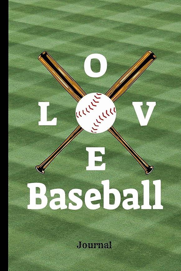 定刻つなぐ毎年Love Baseball Journal: Journal Notebook, 100 Lined Pages for Daily Writing  (6