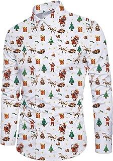 Best men's button down christmas shirt Reviews