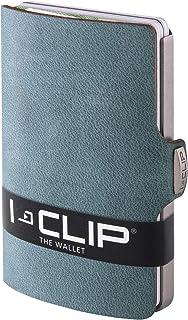 I-CLIP Original Silver Soft Touch Opal, Credit Card Holder, Wallet, Money Clip