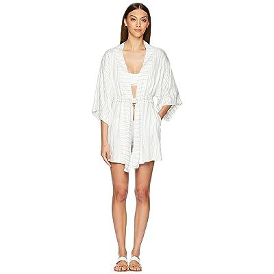 onia Gina Kimono (White Multi) Women