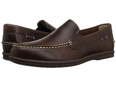 Sebago Litesides Slip-On (Burnt Ivory Leather/Gum Outsole) Men