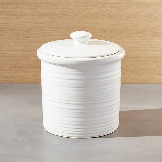 Farmhouse Small Canister | Crate and Barrel
