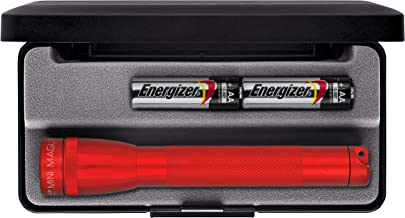 MagLite AA Flashlight Presentation Box, Red