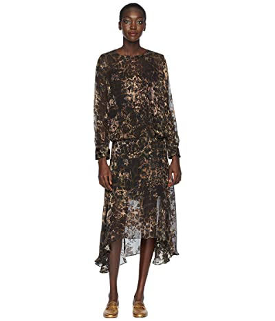 Preen by Thornton Bregazzi Andrea Dress with Black Slip (Black) Women