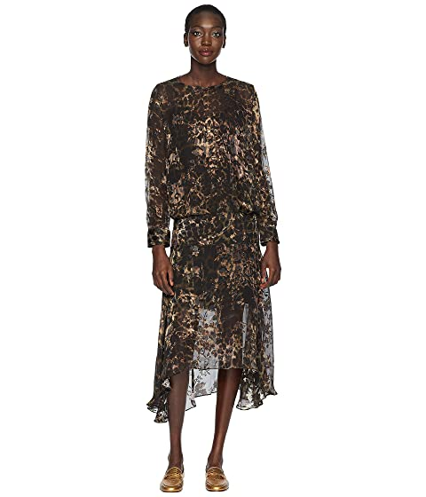 Preen by Thornton Bregazzi Andrea Dress with Black Slip