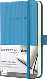 SIGEL CO578 Carnet de notes, env. A6 9,5 x 15 cm,