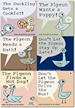 Pigeon Pack (4 Book Set) (The Pigeon Finds a Hot Dog!; Don't Let Pigeon the Stay Up Late!; The Pigeon Wants a Puppy!; Don't Let the Pigeon Drive the Bus!) by Mo Willems (2010-05-03)