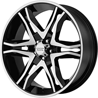 American Racing AR893 Mainline Black Machined Wheel (17x8