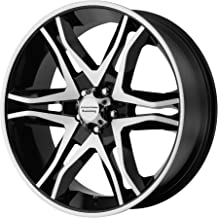 American Racing AR893 Mainline Black Machined Wheel (17x8