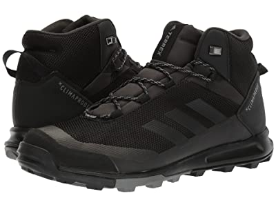adidas Outdoor Terrex Tivid MID CP (Black/Black/Grey Four) Men