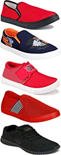 Shoefly Sports Running Shoes/Casual/Sneakers/Loafers Shoes for Men&Boys (Combo-(5)-1219-1221-1140-472-782)