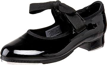Bloch Dance Annie Tyette Tap Shoe (Toddler/Little Kid/Big Kid),Black Patent,7 N US Toddler