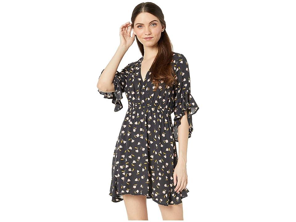 Billabong Love Light Dress (Black) Women