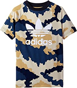 adidas Originals Kids Tko Aop Tee (Toddler/Little Kids/Big Kids)