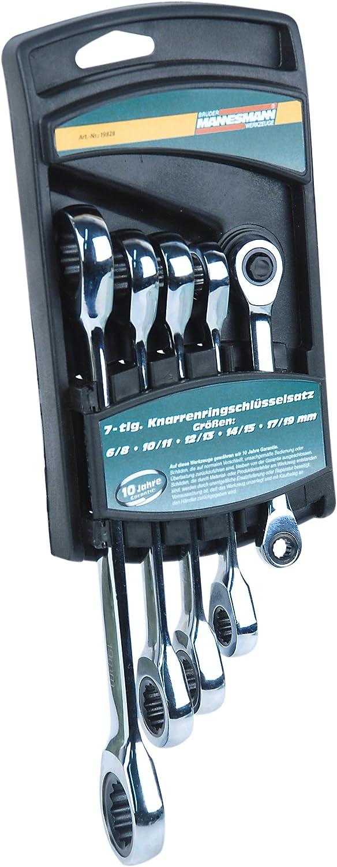 Mannesmann 5-tlg. Ratschenschlüsselsatz, M19828 B003RRWMOA   Produktqualität