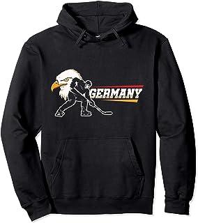 German Hockey Player Hoodie Germany Sports Coach Pullover