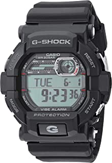 Casio 2018 GD350-1CR Watch G-Shock Vibration Alarm Black