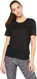 Nike Australia Women's Spring Legend Veneer Top, Black/Cool Grey/White