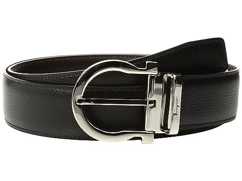 Salvatore Ferragamo Adjustable & Reversible Belt - 679781