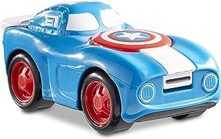 HeroDrive Spiderman Capitan America-Vehículo de Personajes de Marvel, Color Multi Colored (Funrise International 60484)
