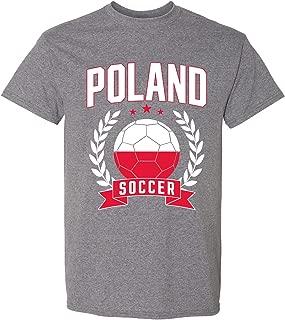 UGP Campus Apparel Soccer Laurel - 2018 World Football Cup T Shirt