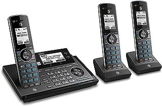 AT&T CLP99387 DECT 6.0 - Teléfono inalámbrico Extensible con conexión Bluetooth a la celda, Bloqueador de Llamadas Intelig...