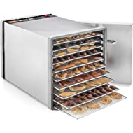 STX International... STX International STX-DEH-600W-SST-CB Stainless Steel Dehydra 10 Tray Food and Jerky Dehydrator...