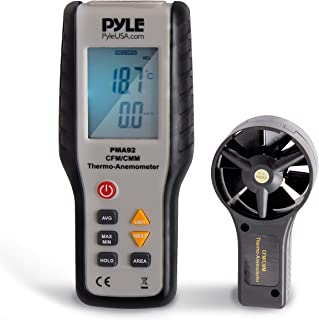 Digital Wind Speed Anemometer Handheld – Portable Air Flow Meter CFM Thermometer..