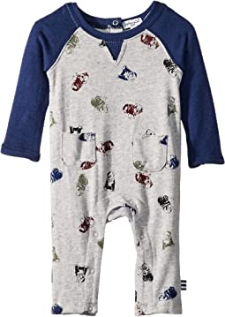 Always Over Print Raglan One-Piece (Infant)