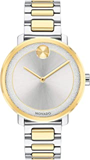 Bold, Stainless Steel Case, Silver Dial, Two Tone Stainless Steel Bracelet, Women, 3600519