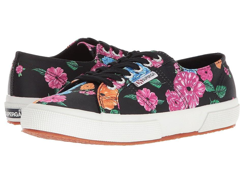 Superga 2750 Camfloralw Sneaker (Black Multi) Women