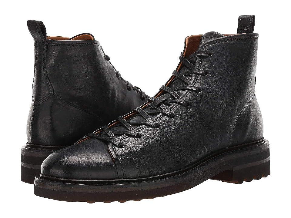 John Varvatos Collection Essex Trooper Boot (Black) Men