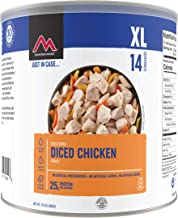 Mountain House Cooked Diced Chicken #10 Can