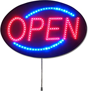The Most Popular Open Sign in The World! - Pro-Lite Ultra Bright LED Open Business Sign with 10 Year Warranty on LEDs, 13