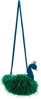 Jellycat Fancy Peacock Plush Purse for Kids