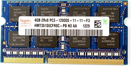 Hynix 4GB PC3-12800 DDR3 1600MHz Non-ECC Unbuffered HMT351S6CFR8C-PB