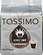 King of Joe Espresso Coffee T-Discs for Tassimo Brewing Systems (16 T-Discs)