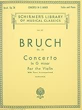 max bruch violin concerto sheet music