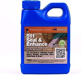 Miracle Sealants SEENPT6 511 Seal & Enhance Color & Gloss Enhancers, Pint, Clear