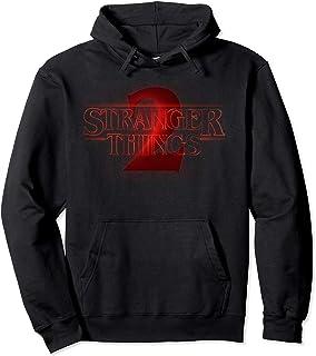 Netflix Stranger Things 2 Dark Logo Sweat à Capuche