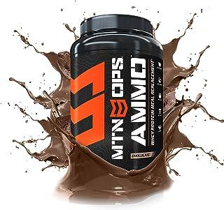 MTN OPS Ammo Whey Protein Nutritionally - Polvo de Recambio Completo para Comida, 28 servilletas
