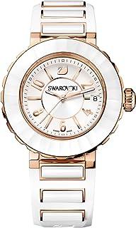 Swarovski - Reloj Swarovski Octea Sport color blanco chapado en oro rosa 5040555