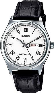 Reloj Analógico para Hombre de Cuarzo con Correa en Cuero MTP-V006L-7B