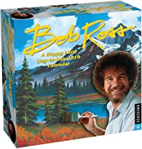 Bob Ross: A Happy Little Day-to-Day 2019 Calendar