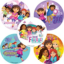 SmileMakers Dora & Friends Stickers - Birthday and Theme Party Supplies - 100 Per Pack