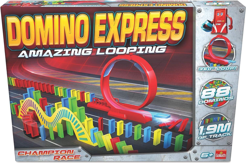 Dominó Express- Amazing Looping, Multicolor (Goliath 81007) , color/modelo surtido