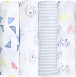 aden + anais Classic Swaddling 4-Pack