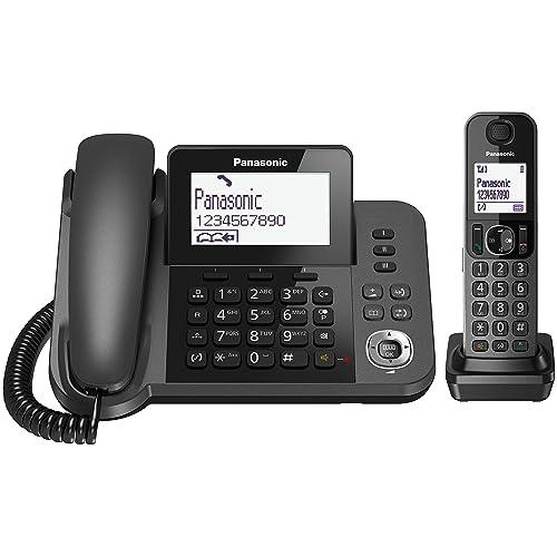 Panasonic KX-TGF310EXM - Teléfono Fijo Digital (DECT, 2 en 1),